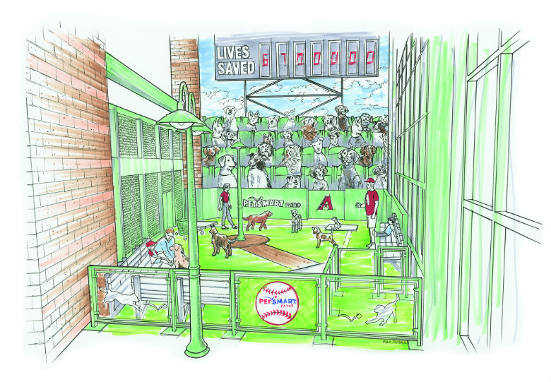 This Ballpark Will Offer the First-Ever Dog-Friendly Ballpark