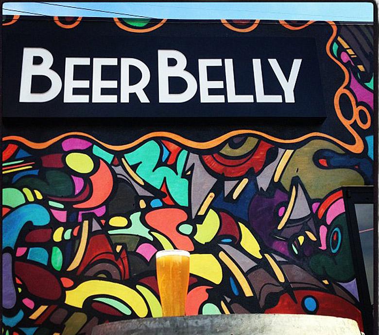 Beer Belly signage