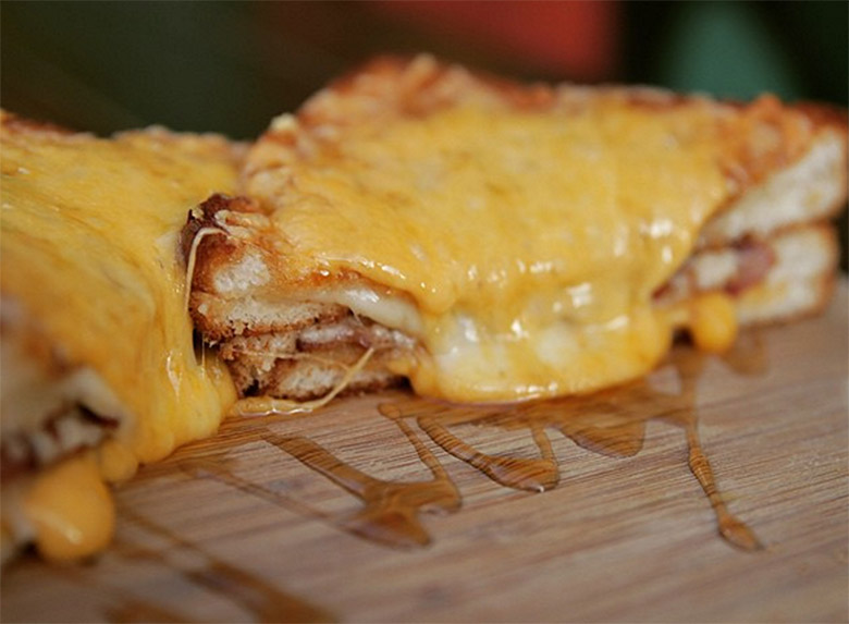 beer belly grilled cheese