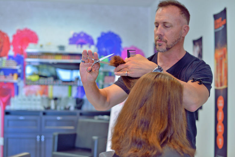 Master Stylist Offers 45 Haircuts In Every State With All Proceeds