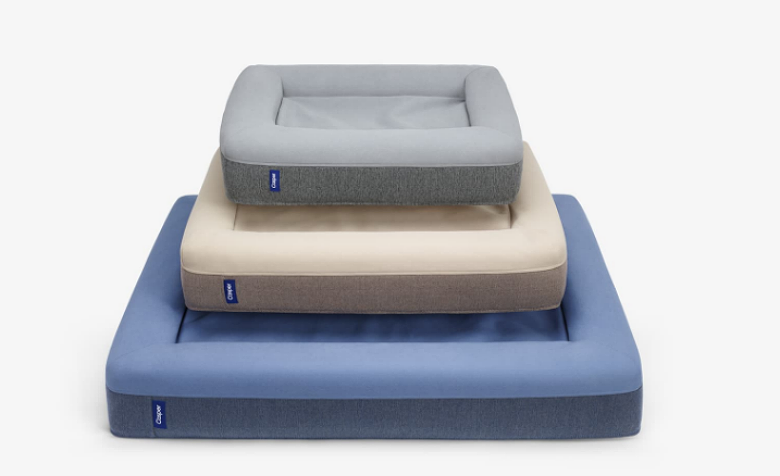 The three Casper dog beds