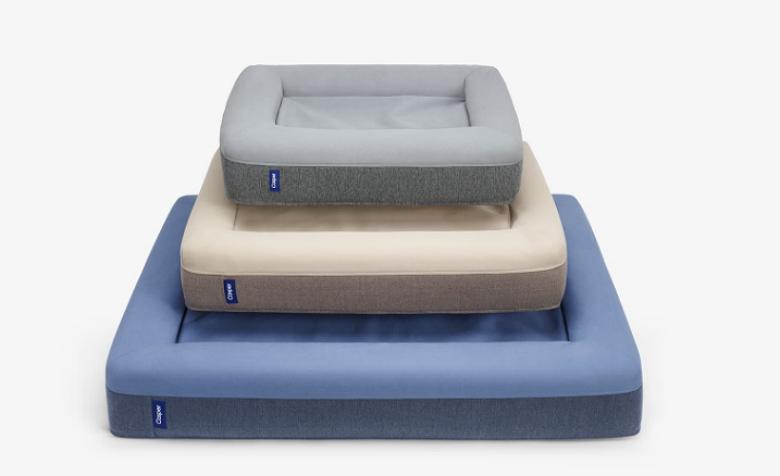 The three Casper dog beds