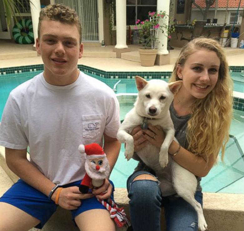 Kya and Santa 2