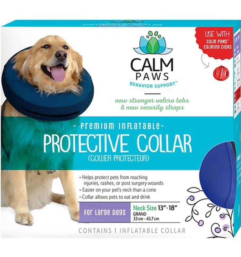 "50043370b5c This option can be viewed as a ""system""  it s made to be used with the Calm  Paws Calming Disk Dog Collar Attachment"