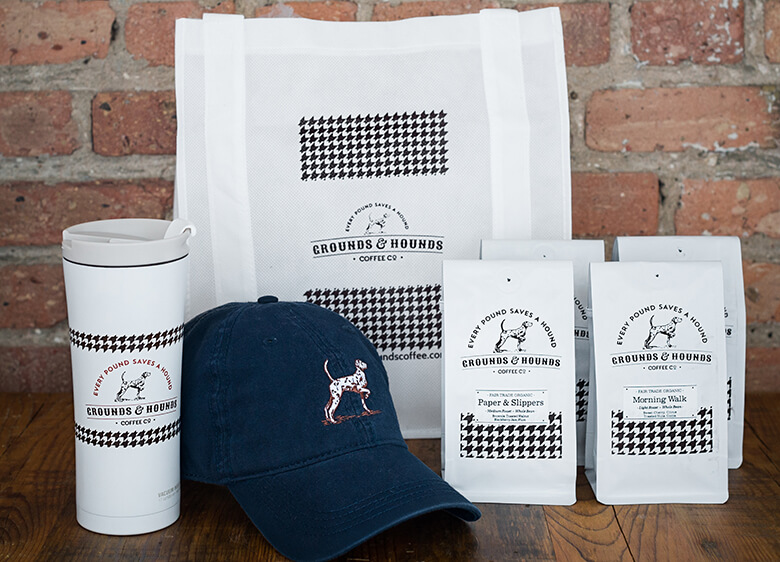 Grounds and Hounds Rescue Bundle with Blue Hat