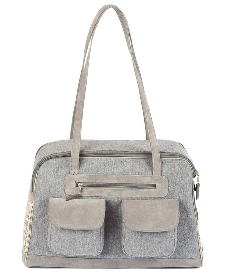 The Canine Styles signature dog carriers look exactly like a handbag — and  it functions like one 222339a51