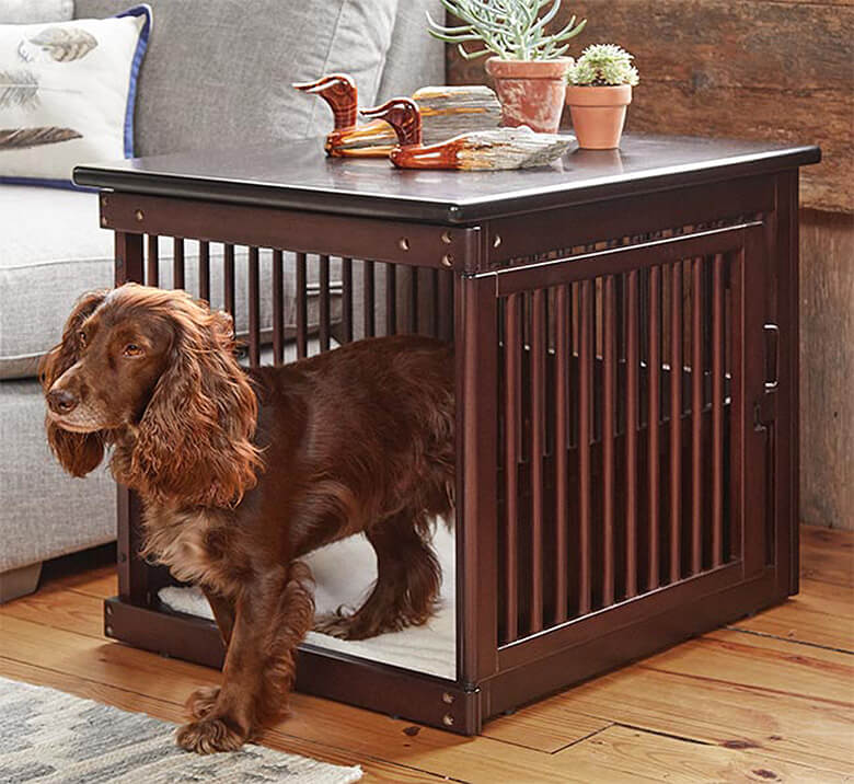 The Wooden End Table Crate By Orvis Looks So Good, If You Donu0027t Have A Dog  It Might Just Inspire You To Run Out And Adopt One! Constructed From Sturdy  Wood, ...