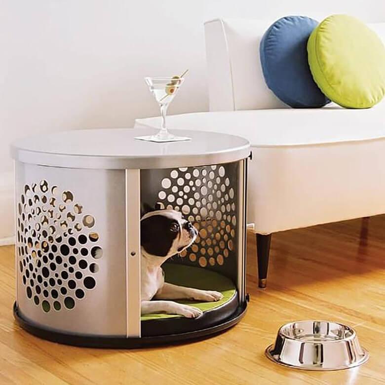 Denhaus Bowhaus Dog Crate Furniture