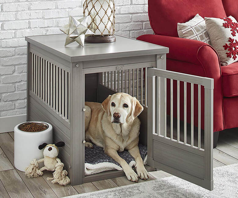 The Coolest Dog Crates Disguised As Stylish Furniture