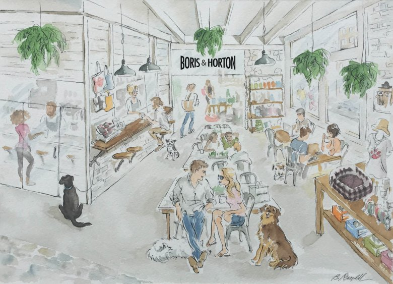 Boris and Horton: New York City's First Dog Café Set to Open This Year