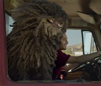 Dr. Pepper commercial with Puli