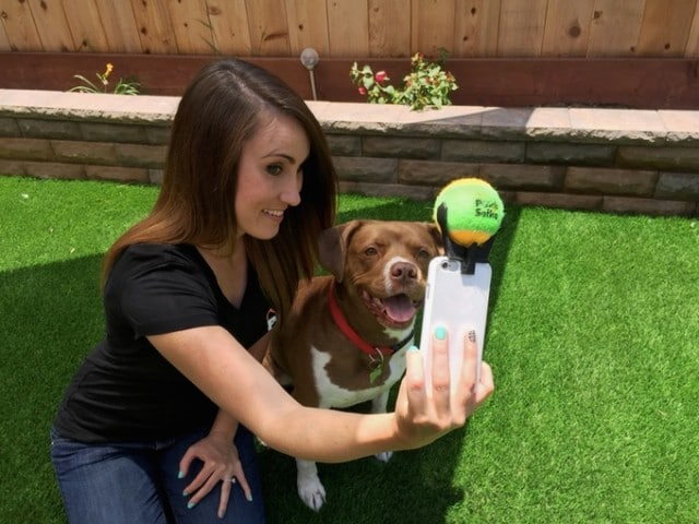 Genius Figures Out Age-Old Problem: How to Get a Dog to Stay Still for a Selfie