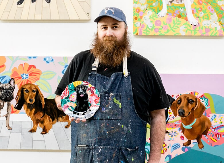 Meet the Artist Behind Anthropologie's 'Bone Appetit' Collection