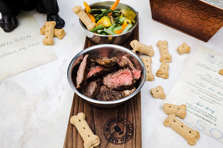 Restaurant Just Launched Dog Menu With $42 Steak Dinner On It