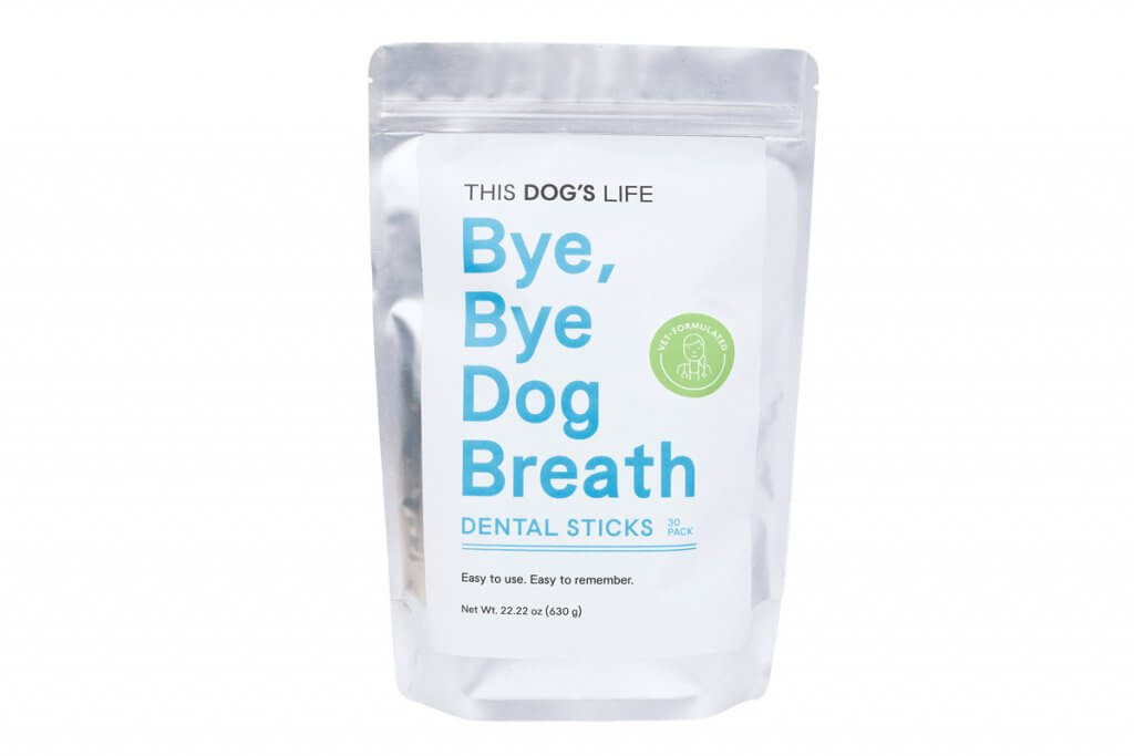 Bye, Bye Dog Breath Dental Sticks