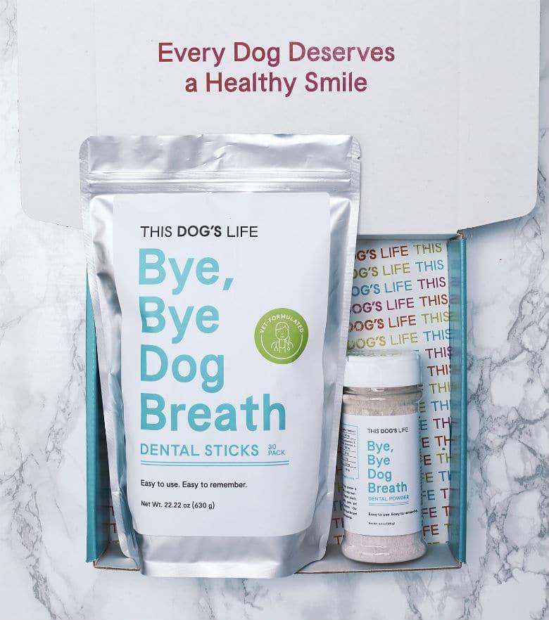 Bye Bye Dog Breath Dental Line_1_Photo