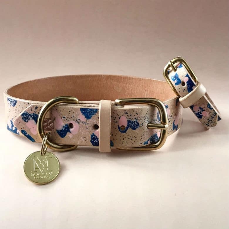 dog collar and bracelet