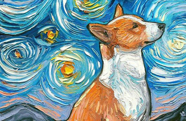 Artist Van Gogh Front Page