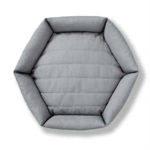 Velvet Hippo Hexagon Bed 2