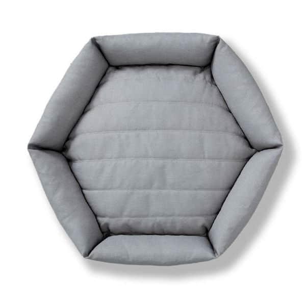 Velvet Hippo Hexagon Bed