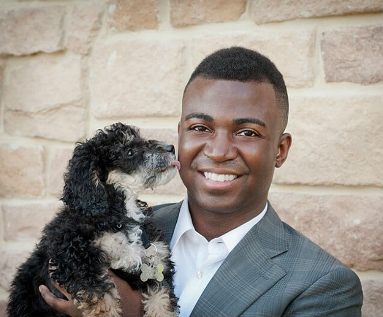 Gerrard Larriett black-owned dog business