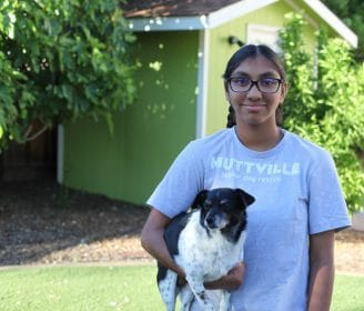 Meena Kumar and Muttville 3