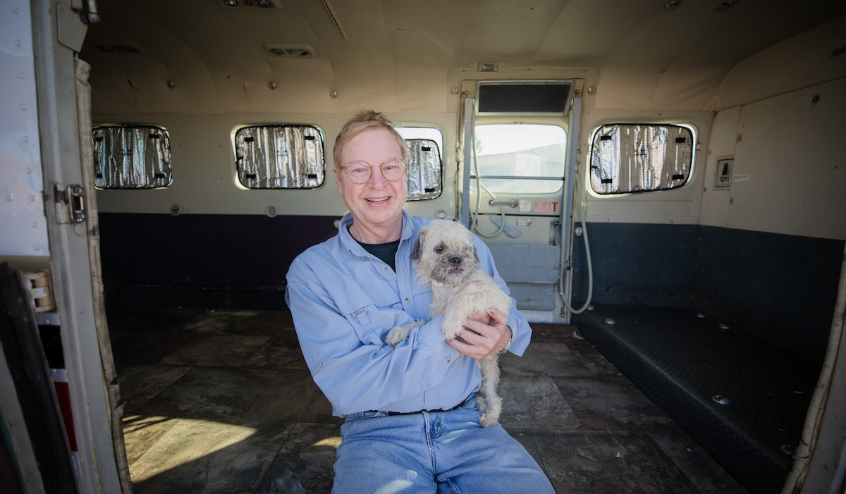 This Pilot is Saving Dogs' Lives One Flight at a Time