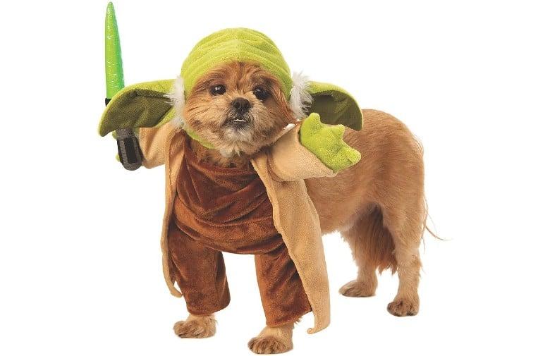 Baby Yoda dog halloween costume