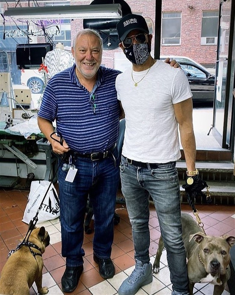 Bruno Village Tailor and Cleaner and Justin Theroux