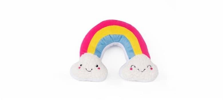 Zippy Paws Rainbow Dog Toy